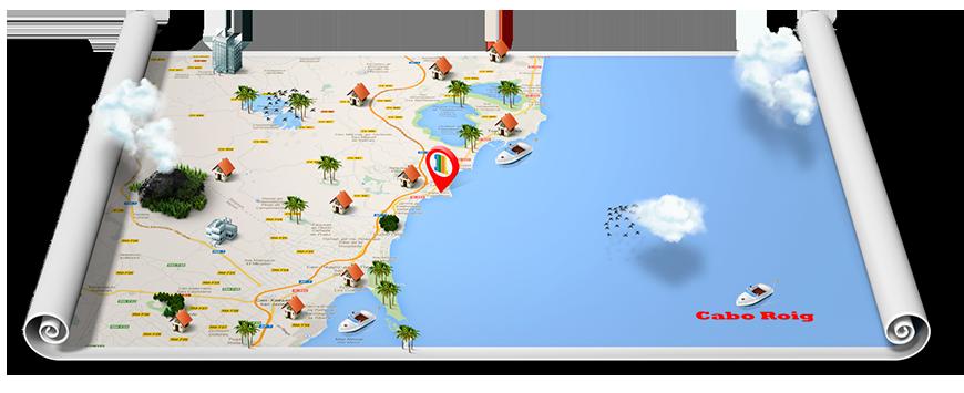 1-я Академия Недвижимости Зона Cabo Roig Нидвижимость испании