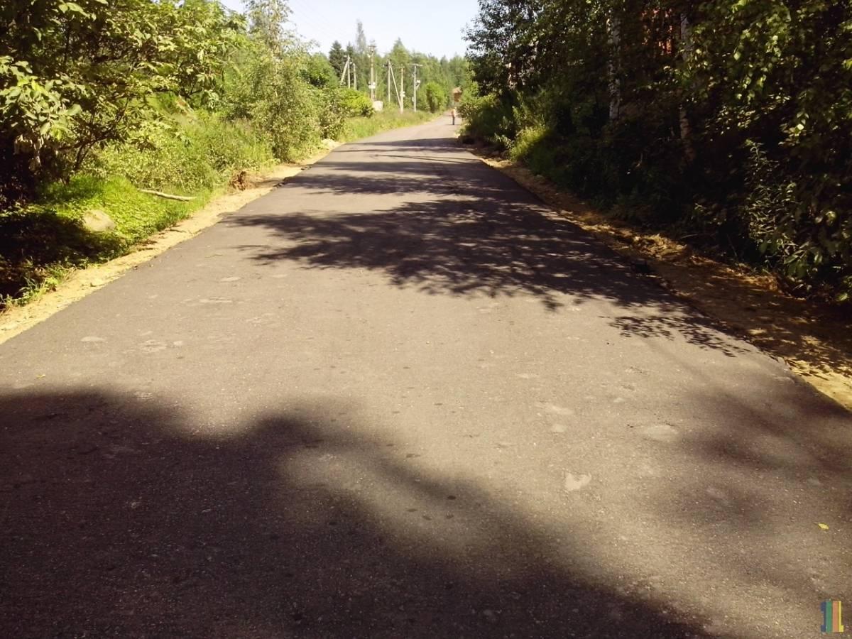 Новая дорога до  ДНП Коркинские просторы