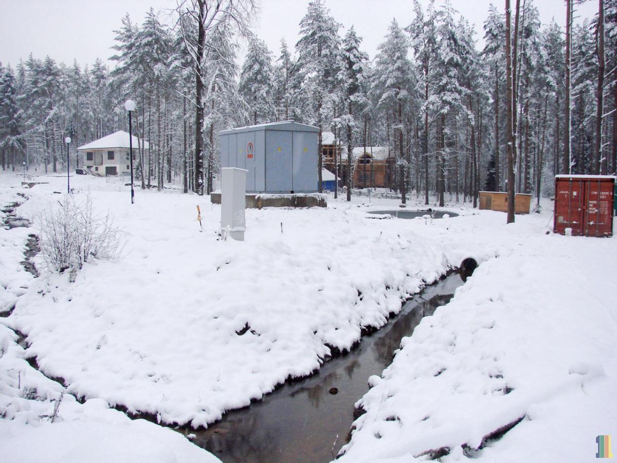Электричество в 4-ой очереди поселка