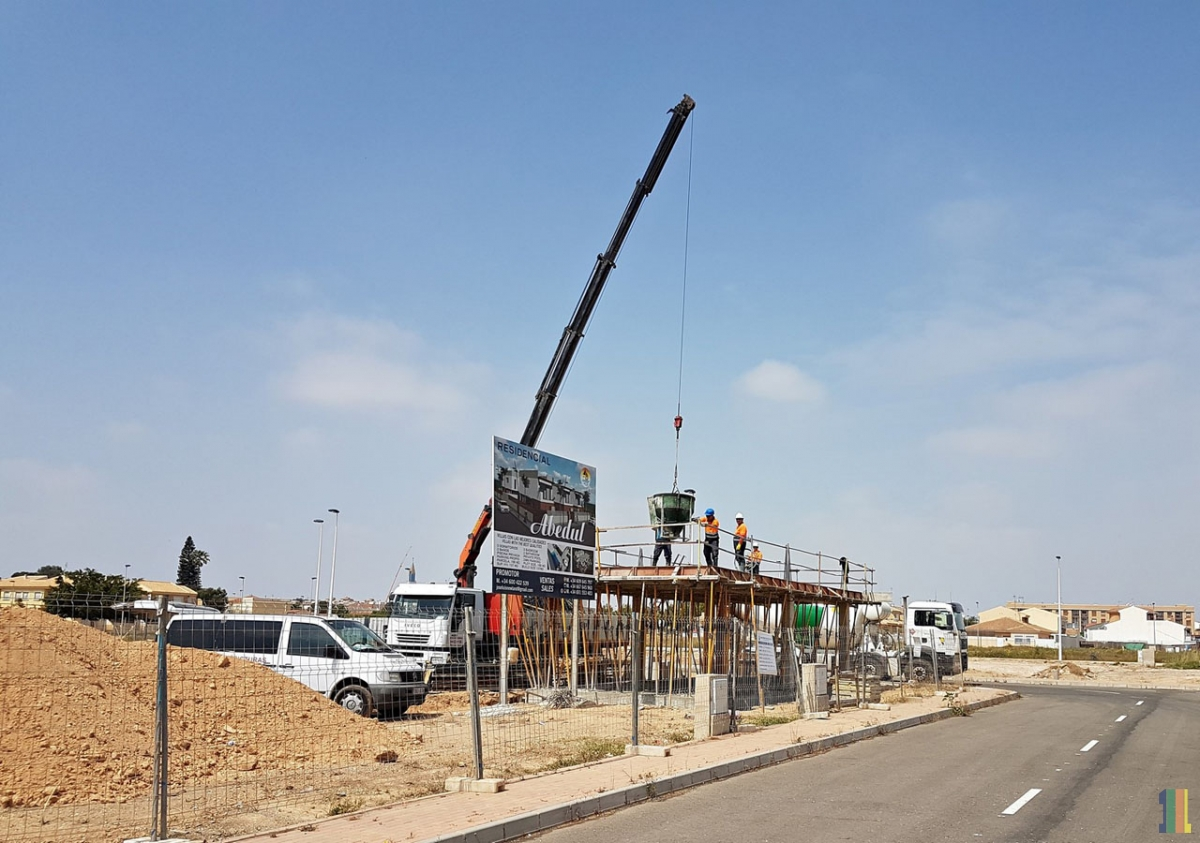 Выполнены работы по бетонированию