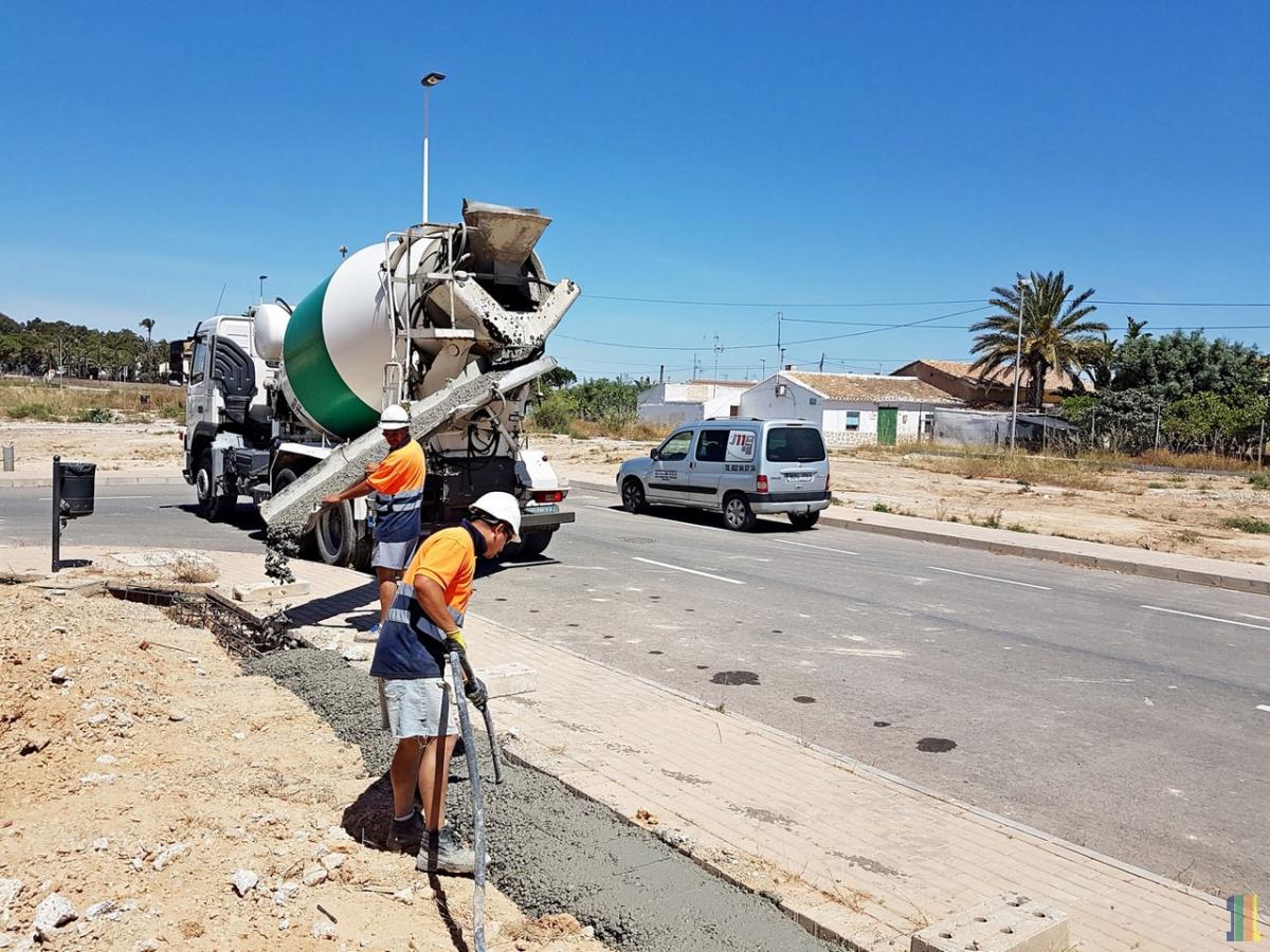 Строительство  в Испании.