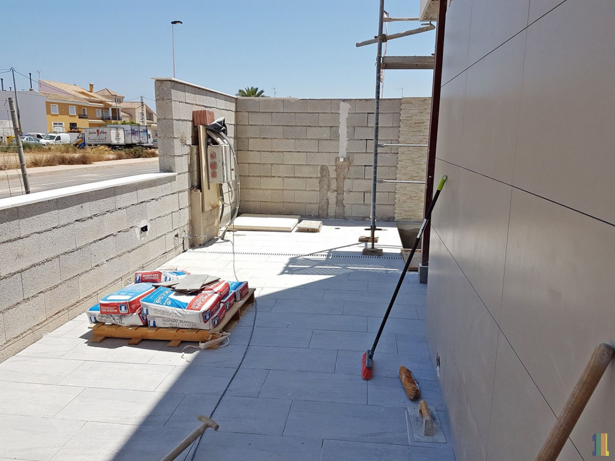 Работы в демо доме в Испании.