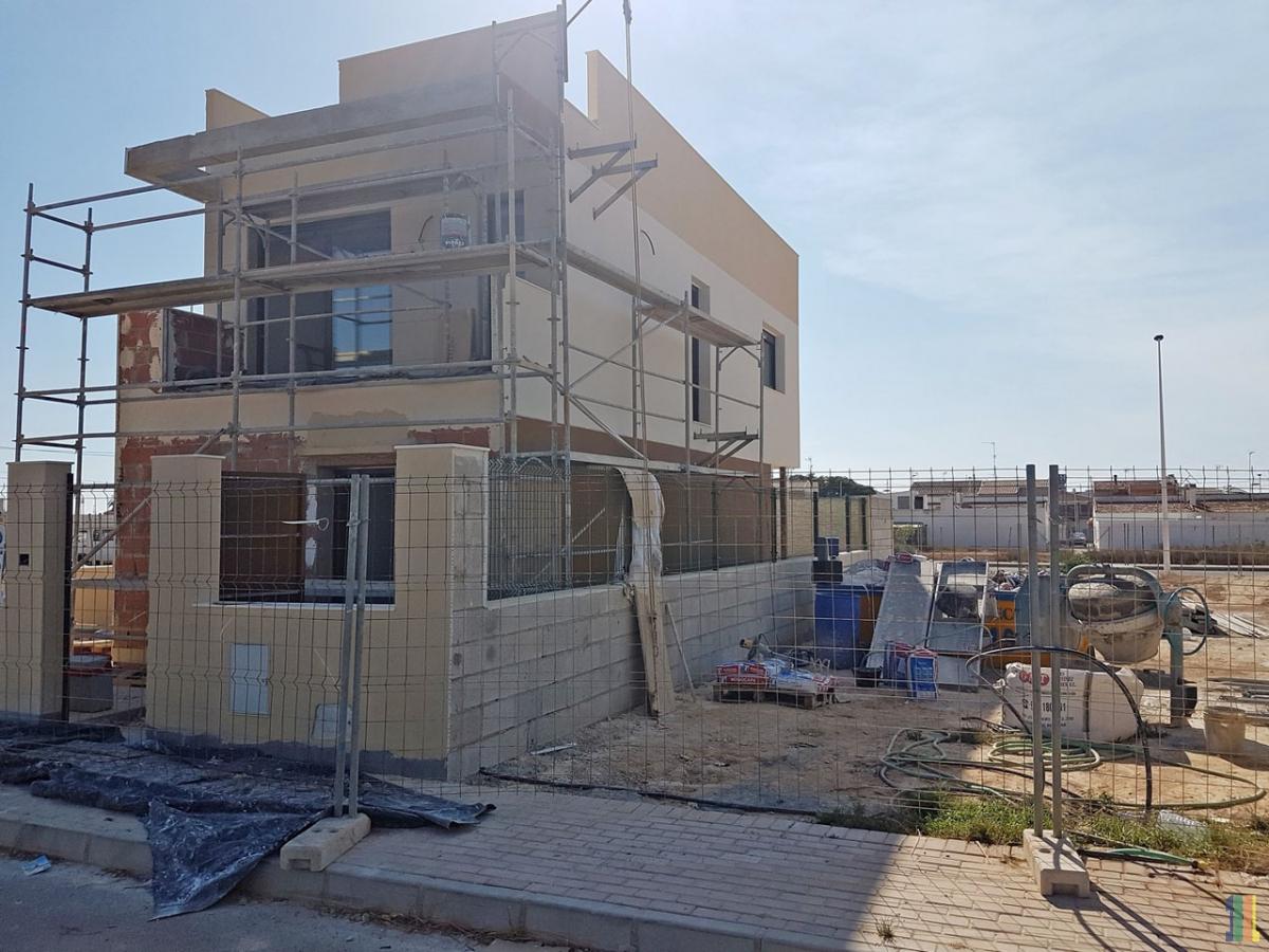 Строительство демо-дома в жилом комплексе Абидуль